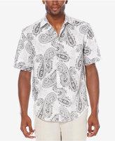 Cubavera Men's Linen Paisley Shirt