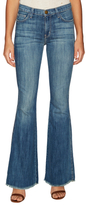 Current/Elliott Denim Faded Low Bell Bottom Jean