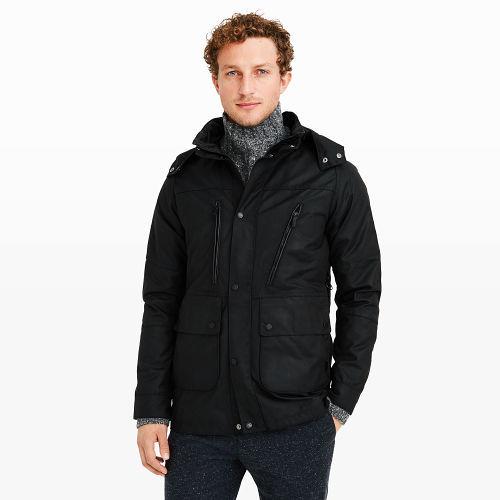 Club Monaco Barbour One-Bell Jacket