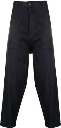 Societe Anonyme Oversized Tapered Trousers