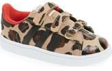 adidas 'Superstar - Leopard' Sneaker (Baby, Walker & Toddler)