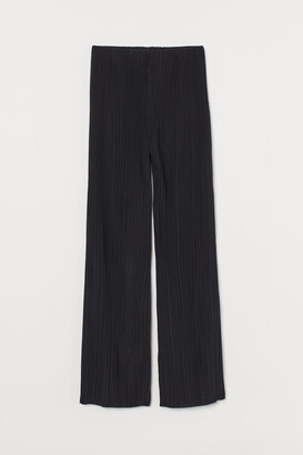 H&M Pleated Pants - Black