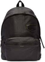 Saint Laurent Black Vintage City Backpack