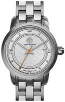 Tory Burch 'Tory' Small Round Bracelet Watch, 28mm