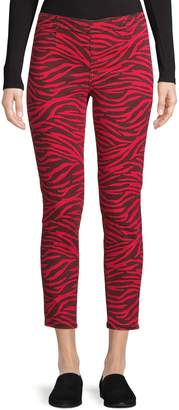 Highline Collective Zebra-Patterned Skinny Pants