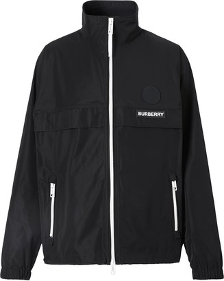 Burberry Globe Graphic lightweight jacket