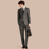 Burberry Modern Fit Wool Silk Half-canvas Suit