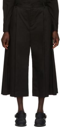 MONCLER GENIUS 6 Moncler Noir Kei Ninomiya Black Wide Leg Trousers