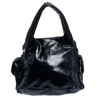 Givenchy Navy Patent leather Handbags