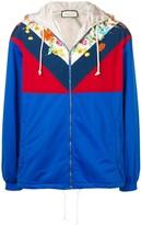 Gucci Floral Colour Block Jacket
