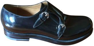 Gucci Black Patent leather Lace ups