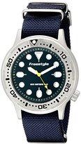 Freestyle Unisex 10019174 Ballistic Dive Analog Display Japanese Quartz Blue Watch