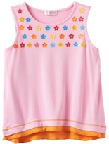 Design 365 Floral Sequin Mock-Layer Top - Toddler Girl