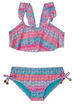 Hula Star Toddler Girl's Hearts Galore Two-Piece Swimsuit