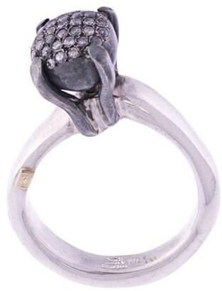 Rosa Maria Yoko diamond ring