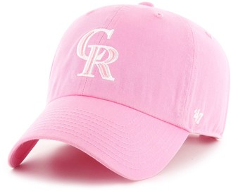 '47 Women's Colorado Rockies Rose Clean Up Adjustable Hat