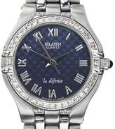 Elgin Stainless Steel Swiss Made Quartz Womens Watch Year: 2000