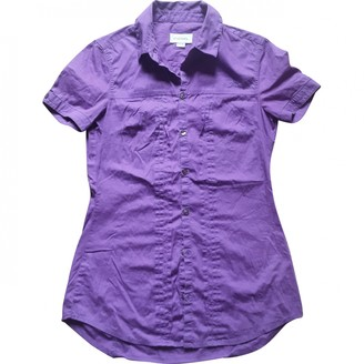 Diesel Purple Cotton Top for Women