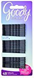 Goody Ouchless Bobby Pin, Crimped Black, 2 Inches, 48 Count