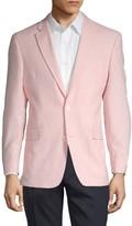 Tommy Hilfiger Notch Lapel Linen Blend Jacket