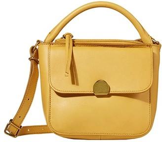 Madewell Mini Abroad Crossbody Bag (Nectar Gold) Handbags
