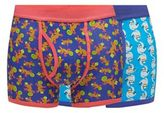 Red Herring Pack Of Two Animal Print Trunks