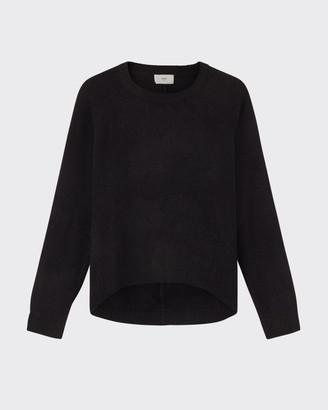 Minimum Kita jumper 0136 - Size XS | black - Blue/Black/Black