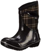Bogs Women's Plimsoll Plaid Mid Winter Snow Boot