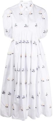 Cecilie Bahnsen Mikko floral midi dress