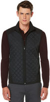 Perry Ellis Quilted Front Vest