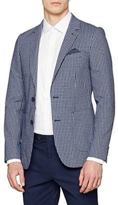 Burton Menswear London Men's Seersucker Check Blazer