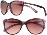 Women's SO® Abstract Cat's-Eye Sunglasses