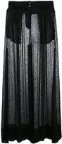 Ann Demeulemeester Geza skirt - women - Cotton/Linen/Flax - 36