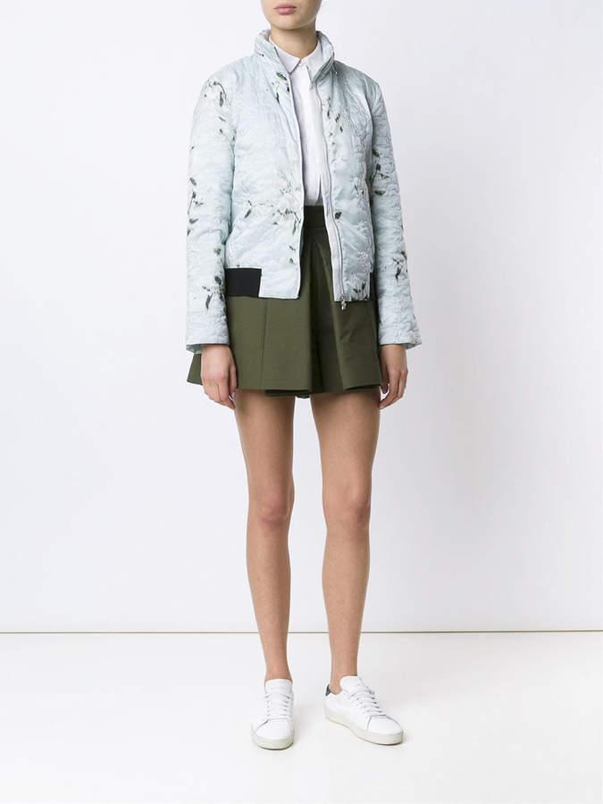 Moncler 'magnolia' bomber jacket