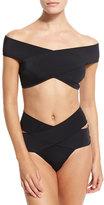 OYE Swimwear Lucette Off-The-Shoulder Two-Piece Swimsuit
