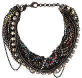 Iosselliani Multistrand Crystal Collar Necklace