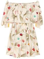 Fendi Exclusive To Mytheresa.com – Off-the-shoulder Printed Dress