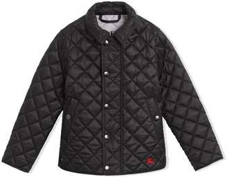 Burberry Lightweight Diamond Quilted Jacket