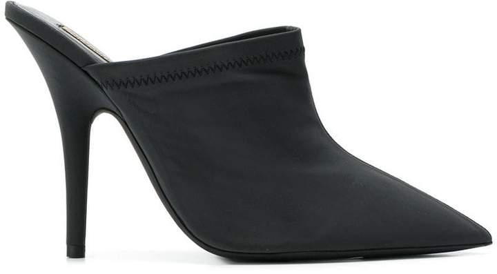 Yeezy stiletto mules