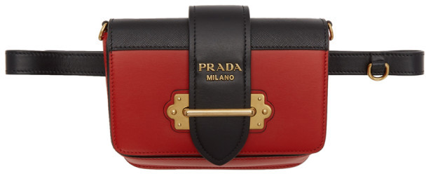 f45598185835 Prada Red Chain Strap Handbags - ShopStyle