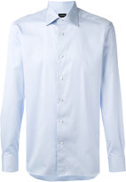 Ermenegildo Zegna curved hem shirt - men - Cotton - 39