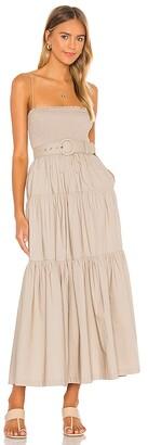 L'Academie The Nour Midi Dress