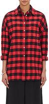 6397 Women's Flannel Lori Shirt-RED