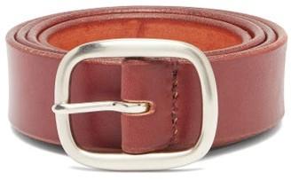 Maximum Henry - Leather Belt - Mens - Burgundy