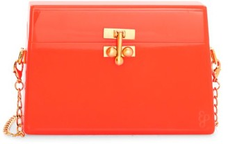 Edie Parker Miss Mini Neon Acrylic Crossbody Bag