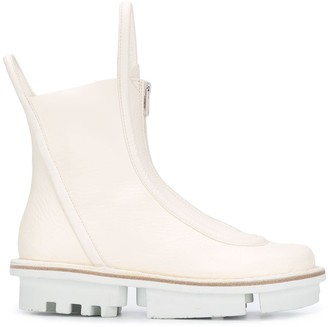 Trippen Panelled Rain Boots