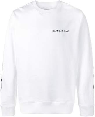 Calvin Klein Jeans logo long-sleeve top