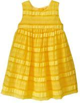 Gap Multi-stripe organza dress