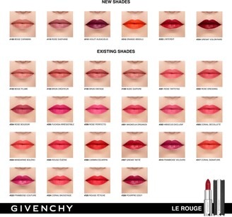Givenchy Le Rouge Lipstick Hydrating Luminous Matte & High Coverage