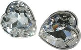 Stanislav Reymer Crystal Heart Mousie Bean Cufflinks